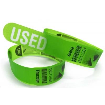 Xerox papír Voiding Wristbands A4 10up - zelená (220g, A4) - 100 listů v balení