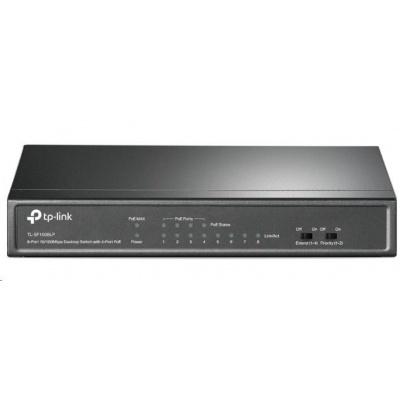 TP-Link TL-SF1008LP [8-Port 10/100Mbps Desktop Switch with 4-Port PoE]