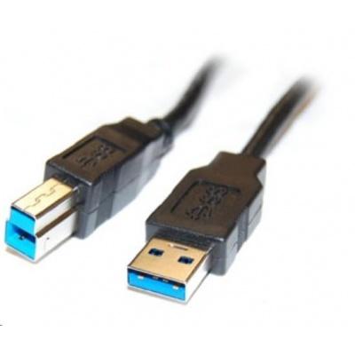 PREMIUMCORD Kabel USB3.0 propojovací A-B, Super-speed 5Gbps, 2m