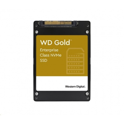 "WD GOLD SSD WDS384T1D0D 3,84TB NVMe (R:3100,W:1800 MB/s), U.2. 2.5"""