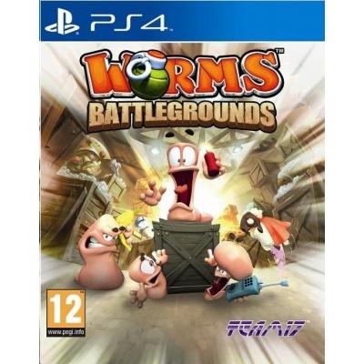 PS4 hra Worms Battlegrounds