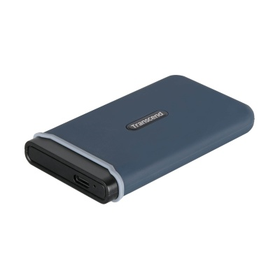 TRANSCEND externí SSD ESD350C 960GB, USB 3.1 Gen.2, Type C, Black