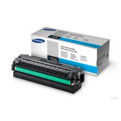 Samsung CLT-C506L High Yield Cyan Toner Cartridge