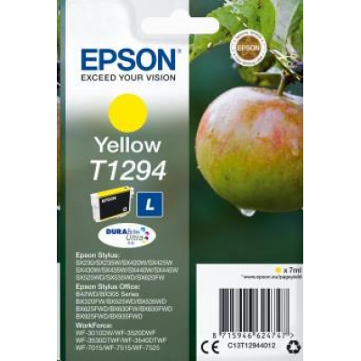 "EPSON ink bar Singlepack ""Jablko"" Yellow T1294 DURABrite Ultra Ink (7 ml)"