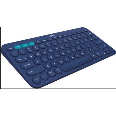 Logitech Bluetooth Keyboard Multi-Device K380, blue, EN