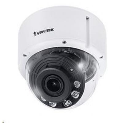 Vivotek FD9391-EHTV, 8MPix (4K), až 30sn/s, H.265, motorzoom 119-45°, DI/DO, PoE, IR, WDR, MicroSDXC, antivandal, IP66