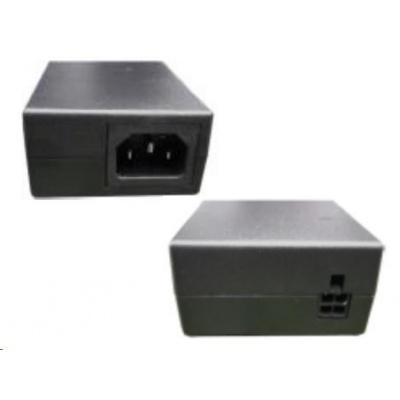 Zebra adapter AC Input: 100-240V, 2.4A. DC Output: 12V, 4.16A, 50W