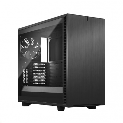 FRACTAL DESIGN skříň Define 7 Light Tempered Glass Midi Tower, šedá, bez zdroje