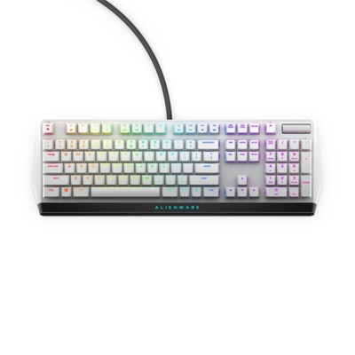 DELL Alienware  510K Low-profile RGB Mechanical Gaming Keyboard - AW510K (Lunar Light)