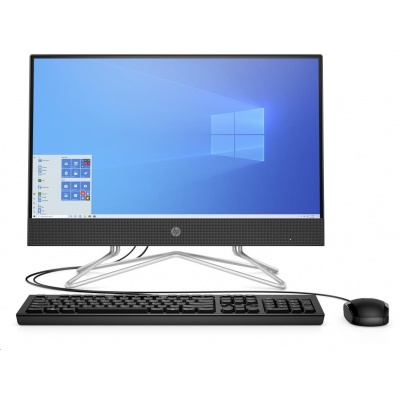 HP PC AiO 22-df0002nc,LCD 21.5 FHD AG, Pentium J5040 2GHz,8GB DDR4 2400,256GB SSD, Intel Internal Graphics, No ODD,Win10