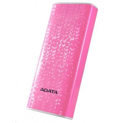 ADATA PowerBank P10000 - externí baterie pro mobil/tablet 10000mAh, růžová