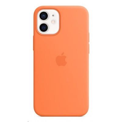 APPLE iPhone 12 mini Silicone Case with MagSafe - Kumquat