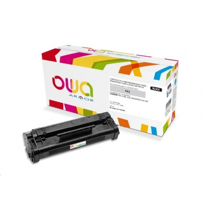 OWA Armor toner pro CANON Fax L200, 300, Multipass L 60, 90, 2700 Stran, FX3, černá/black (FX-3)