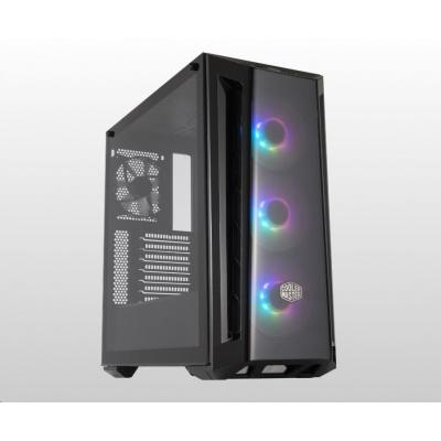 Cooler Master case MasterBox MB520 aRGB, E-ATX, Mid Tower, černá, bez zdroje