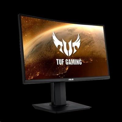 "ASUS LCD 23.6"" VG24VQ 1920x1080 TUF Curved Gaming 144Hz Extreme Low Motion Blur FreeSynC 1ms (MPRT) Shadow-B REPRO PIVOT"