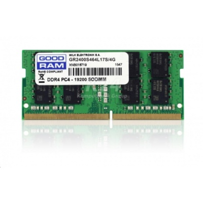 SODIMM DDR4 4GB 2400MHz CL17 GOODRAM