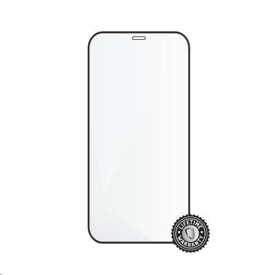 "Screenshield ochrana displeje Tempered Glass pro APPLE iPhone 12 Pro 6.1"", (full cover), černá"