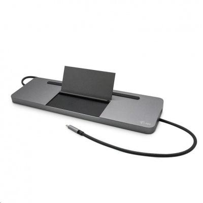 iTec USB-C Metal Ergonomic 4K 3x Display Docking Station + Power Delivery 85 W