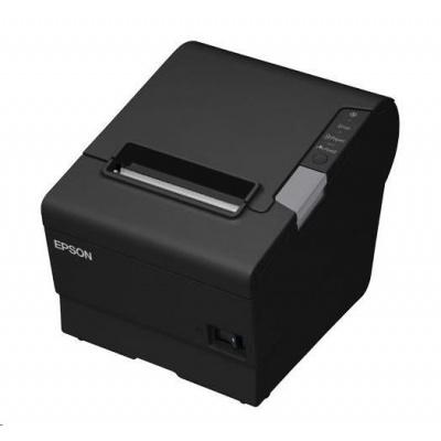Epson TM-T88VI-iHub, fiscal ready AT, USB, RS-232, Ethernet, ePOS, black