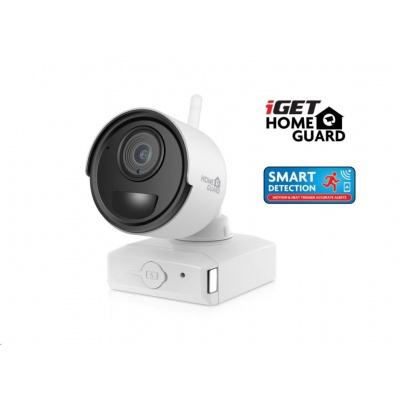 iGET HOMEGUARD HGNVK686CAM Přídavná bateriová FullHD kamera ke kamerovému systému iGET HGNVK68004, SMART detekce pohybu