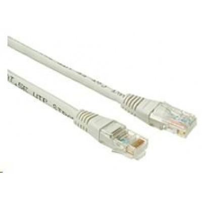 Solarix Patch kabel CAT6 UTP PVC 1m šedý non-snag-proof C6-155GY-1MB