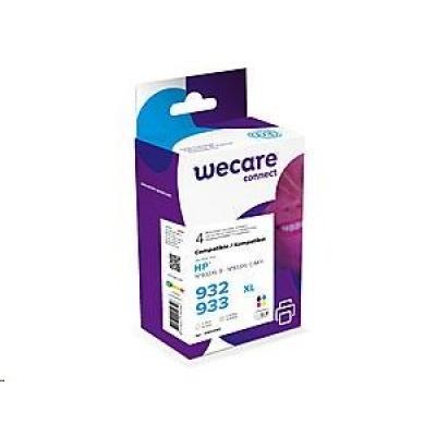 WECARE ARMOR cartridge pro HP Officejet 6100, 6600 (K10306W4), černá/black+1C+1M+1Y/HC, 3x12ml, 1x30
