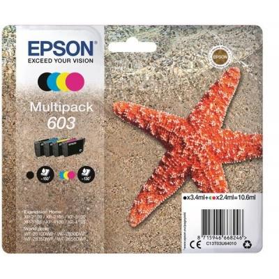 """EPSON ink Multipack """"Hvězdice"""" 4-colours 603 Ink"""