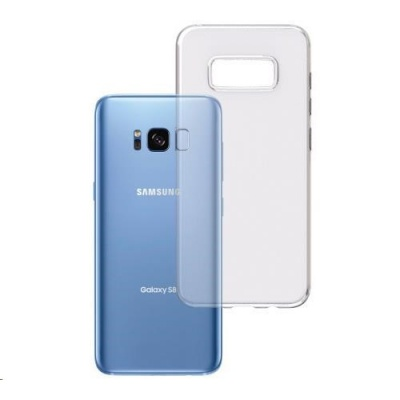 3mk ochranný kryt Clear Case pro Samsung Galaxy S8 (SM-G950), čirý