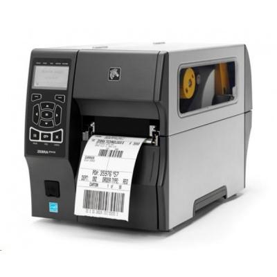 """Zebra TT priemyselná tlačiareň ZT410, 4"""", 600 dpi, RS232, USB, 10/100 LAN, Bluetooth 2.1 / PFI, USB Host, Peel w / Full Rewind, EZPL"""