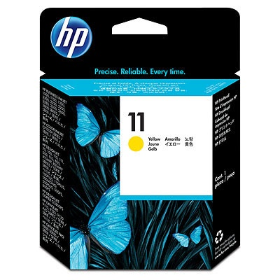 HP 11 Yellow Printhead, C4813A
