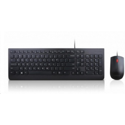 LENOVO Essential Wired Keyboard & Mouse Combo - Slovak
