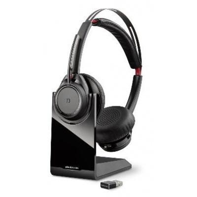 PLANTRONICS Bluetooth Headset Voyager Focus UC B825, včetně nabíjecího stojánku