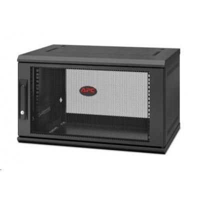 APC NetShelter WX 6U Single Hinged Wall-mount Enclosure 600mm Deep