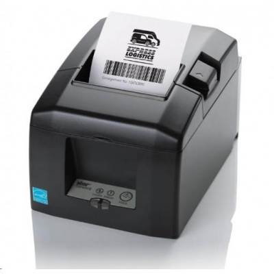 Star TSP654II AirPrint, Ethernet, Wi-Fi, 8 dots/mm (203 dpi), řezačka, grey