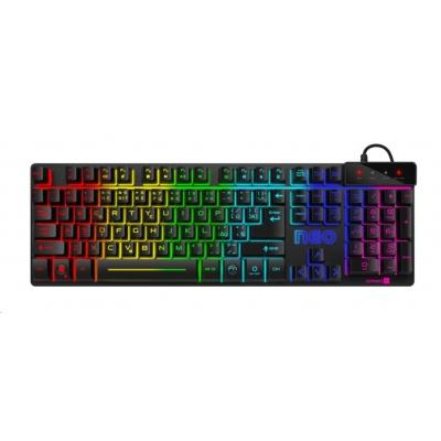 CONNECT IT klávesnice NEO, černá, gaming (CZ+SK verze)