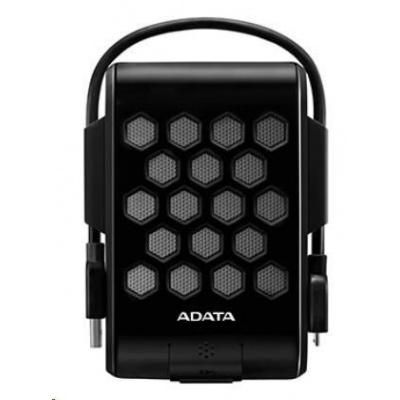 "ADATA Externí HDD 2TB 2,5"" USB 3.1, DashDrive™ Durable HD720, G-sensor, černý, (gumový, vodě/nárazu odolný)"