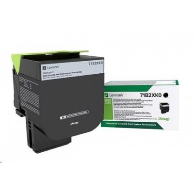 Lexmark toner pro CS/CX517 black z programu Lexmark Return na 8 000 stran
