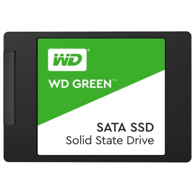 "WD GREEN SSD 3D NAND WDS480G2G0A 480GB SATA/600, (R:500, W:400MB/s), 2.5"""