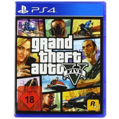 PS4 hra GTA V