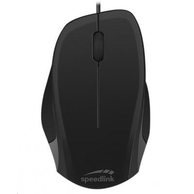 SPEED LINK myš LEDGY Mouse, USB, tichá, černá