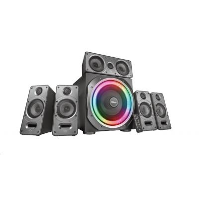 TRUST reproduktory GXT 698 Torro RGB-Illuminated 5.1 Speaker Set