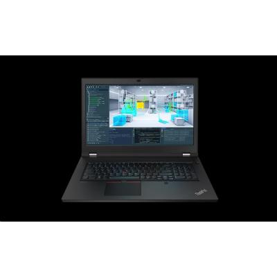 """LENOVO NTB ThinkPad/Workstation P17 G1 - i7-10750H,17.3"""" FHD,16GB,512SSD,nvd T2000 4GB,ThB,cam,W10P,3r prem.onsite"""