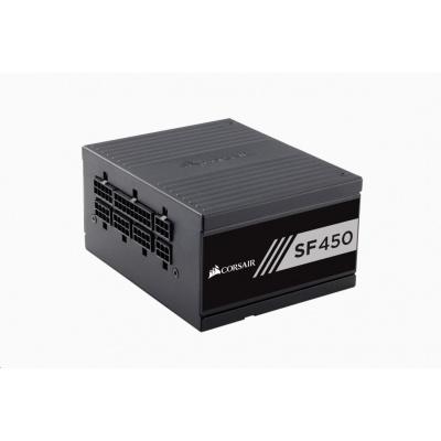 CORSAIR zdroj, SF450-80 PLUS® Gold Certified High Performance PSU (SFX, 450W, Modular)