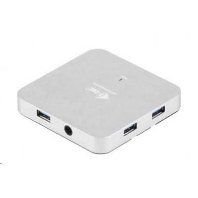 Bazar - iTec USB 3.0 Hub 4-Port Metal s napájecím adaptérem