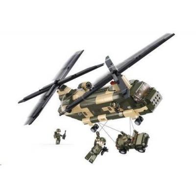 Sluban B-0508 Transportní helikoptéra 520 dílků
