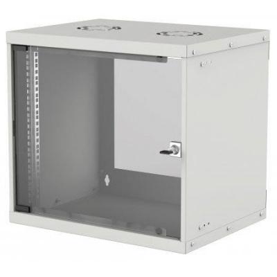 """Intellinet 19"""" BASIC rozvádzač 9U/400mm, šedý, rozložený flatpack"""