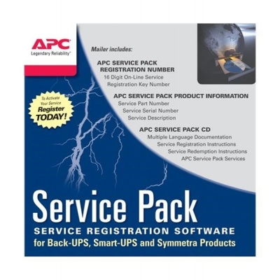 APC 3 Year Service Pack Extended Warranty (for New product purchases), SP-02