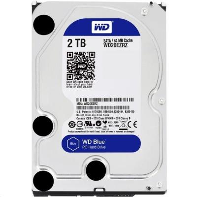 WD BLUE WD60EZAZ 6TB SATA/600 256MB cache 5400 ot. 180 MB/s