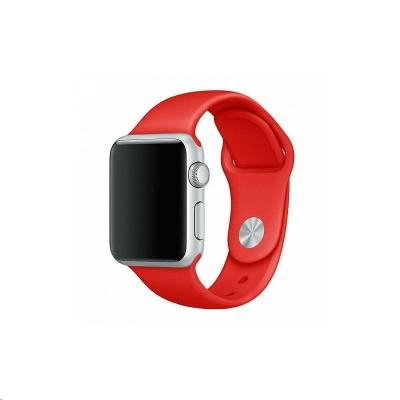 COTEetCI silikonový sportovní náramek pro Apple watch 42 / 44 mm červený