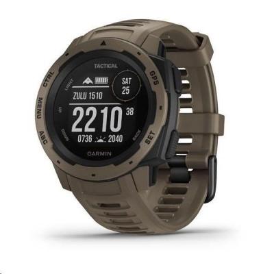 Garmin GPS sportovní hodinky Instinct Tactical Coyote Tan Optic